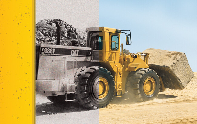 Caterpillar Certified Rebuild: an 18-year-old Wheel Loader becomes a new machine under warranty!